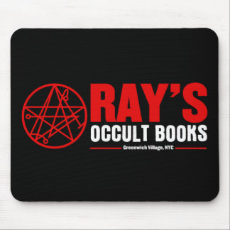 Ray s Occult Book Shop Mouse Mat