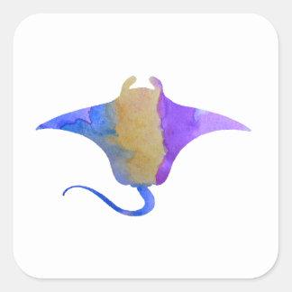 Ray Square Sticker