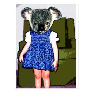 Ray The koala Postcard
