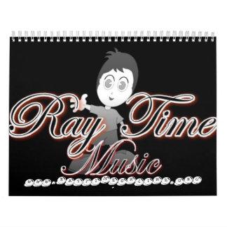 RAY TIME'S CALENDER CALENDAR