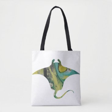 Beach Themed Ray Tote Bag