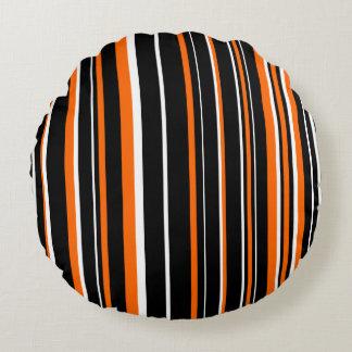 Raya adaptable del negro, del naranja, y blanca