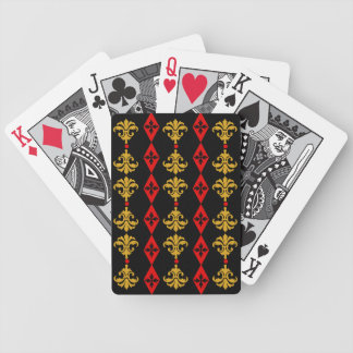 Raya adornada baraja de cartas