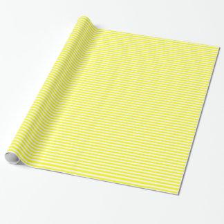 Raya amarilla papel de regalo