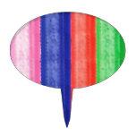 Raya ARTÍSTICA del arco iris Palillos De Tarta