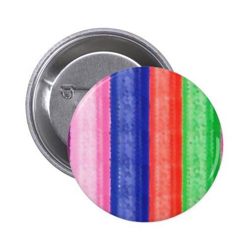 Raya ARTÍSTICA del arco iris Pins