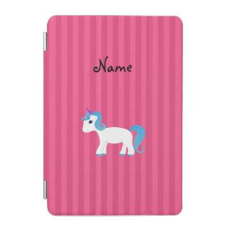 Raya azul conocida personalizada del rosa del cover de iPad mini