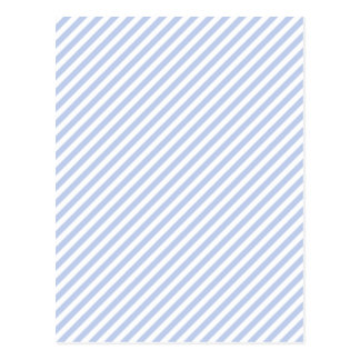 Raya azul de la tienda de Alicia en jardín inglés Postales