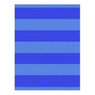 Raya azul del bígaro tarjetas postales