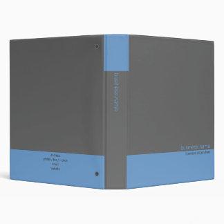 """Raya azul/gris simple moderna elegante llana carpeta 1"""""""