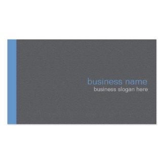 Raya azul simple moderna elegante llana plantillas de tarjetas de visita