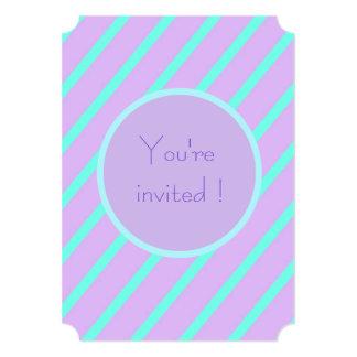 Raya básica suave 'usted es boletos invitados invitación 12,7 x 17,8 cm