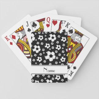 Raya conocida de encargo del blanco de los balones baraja de cartas