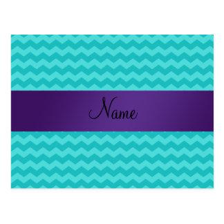 Raya conocida personalizada de la púrpura de los g postal