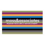 Raya de 311 musgos tarjetas de visita