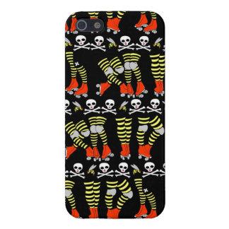 raya de Derby del rodillo del caso del iPhone 5 iPhone 5 Carcasas