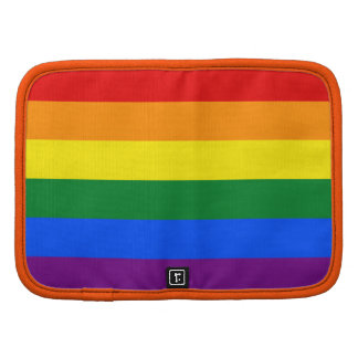 Raya de la bandera del arco iris del orgullo gay d planificadores