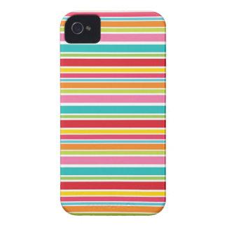 Raya del arco iris iPhone 4 Case-Mate carcasas