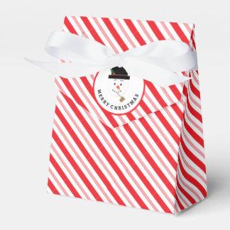 Raya del bastón de caramelo con la caja de regalo caja para regalo de boda