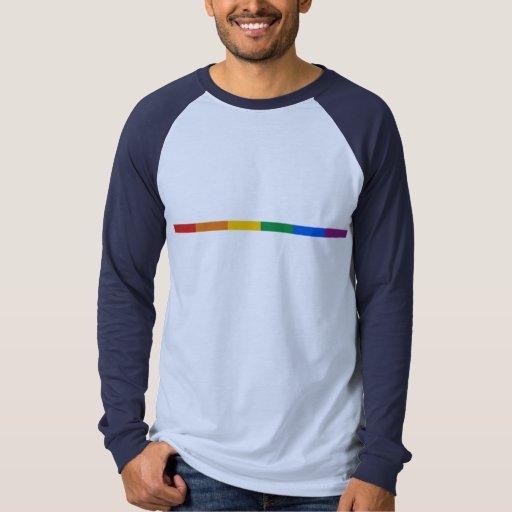 Raya del orgullo gay camisas