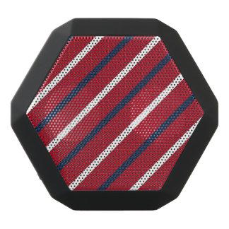 Raya diagonal del rojo, blanca y azul altavoz