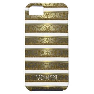 Raya elegante del damasco de Raylah iPhone 5 Case-Mate Protector