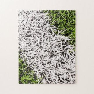 Raya en hierba puzzle