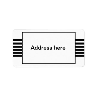 raya etiquetas de dirección
