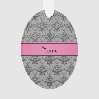 Raya gris conocida personalizada del rosa del