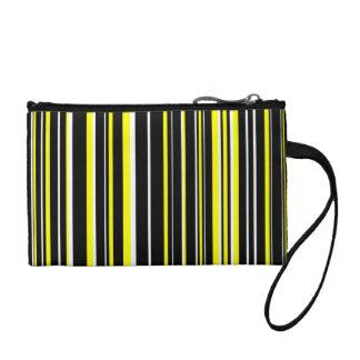 Raya negra, amarilla, blanca del código de barras