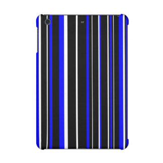 Raya negra, azul, blanca del código de barras