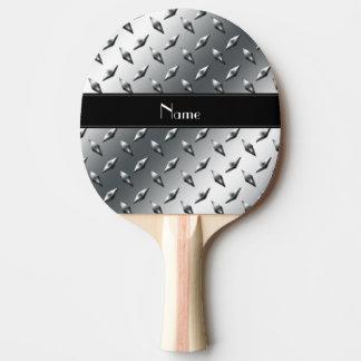 Raya negra conocida de encargo del acero de la pala de ping pong