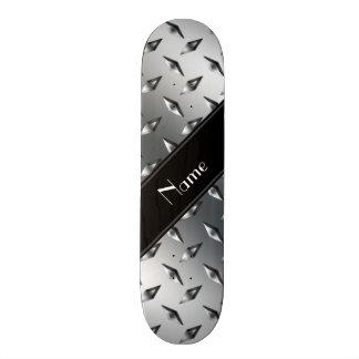 Raya negra conocida de encargo del acero de la skate boards