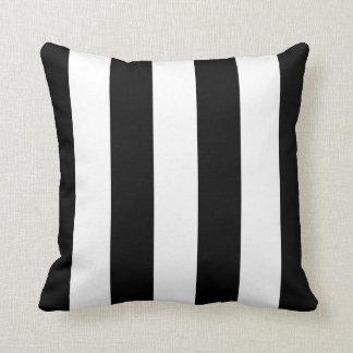 Raya negra del toldo almohadas
