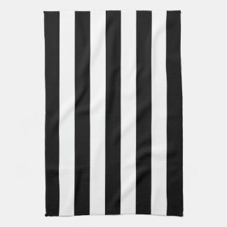Raya negra del toldo toallas