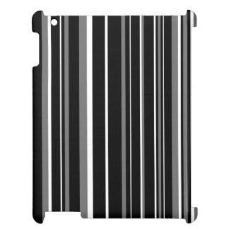 Raya negra, gris, blanca del código de barras