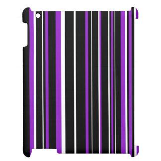 Raya negra, púrpura, blanca del código de barras