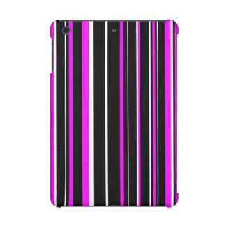 Raya negra, rosada, blanca del código de barras