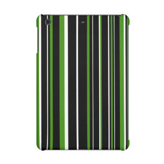 Raya negra, verde, blanca del código de barras