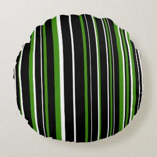 Raya negra, verde, y blanca adaptable