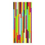 Raya personalizado abstracto colorido de la señal  plantilla de lona
