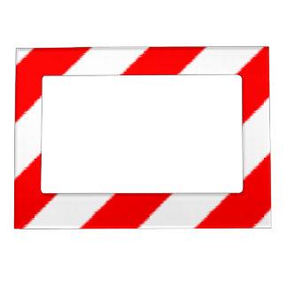 Raya plana del navidad marcos magnéticos para fotos