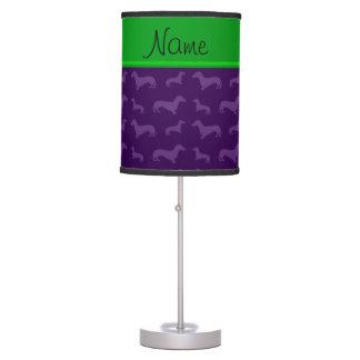 Raya púrpura conocida de encargo del verde del dac