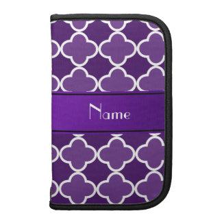 Raya púrpura conocida personalizada de la púrpura planificadores