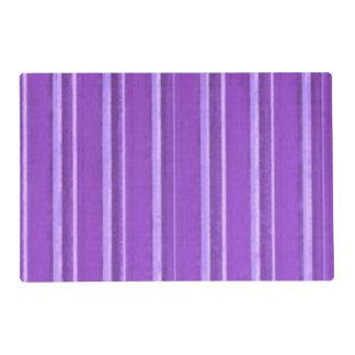 Raya retra de la púrpura de la lavanda salvamanteles