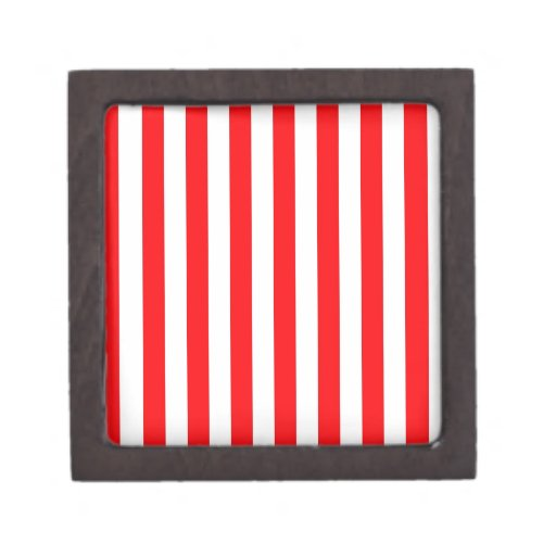 Raya roja caja de joyas de calidad