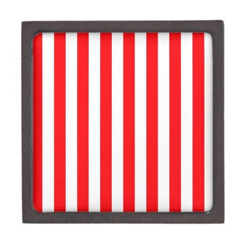 Raya roja caja de recuerdo de calidad