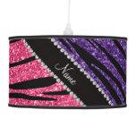 Raya rosada púrpura conocida personalizada de la c