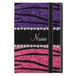 Raya rosada púrpura conocida personalizada de la c iPad mini funda