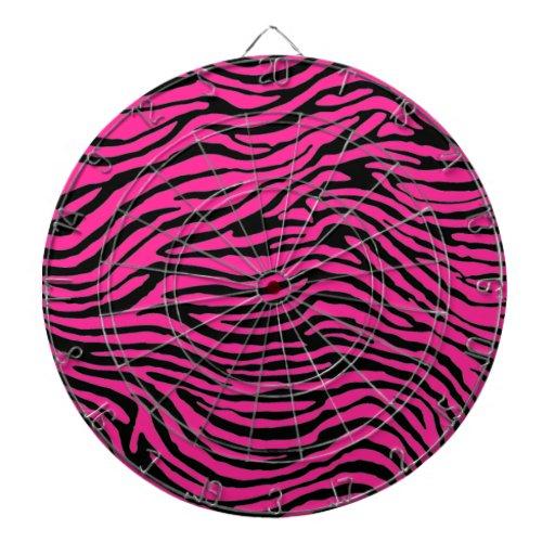 raya rosada y negra de la cebra